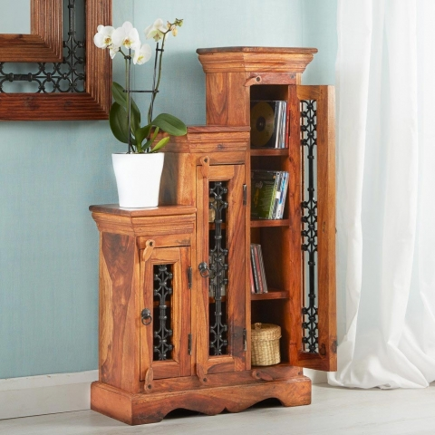 Jali Step CD Cabinet