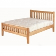 Cherbourg Oak King Size Bed