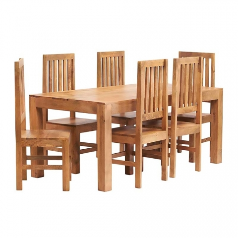 Toko Light Mango Dining Set