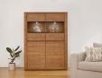 Olten Oak Display Cabinet