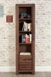 Mayan Tall Narrow Bookcase