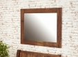 Mayan Walnut Wall Mirror