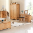 Cherbourg Oak Wardrobe