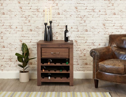 Mayan Wine Rack Cabinet