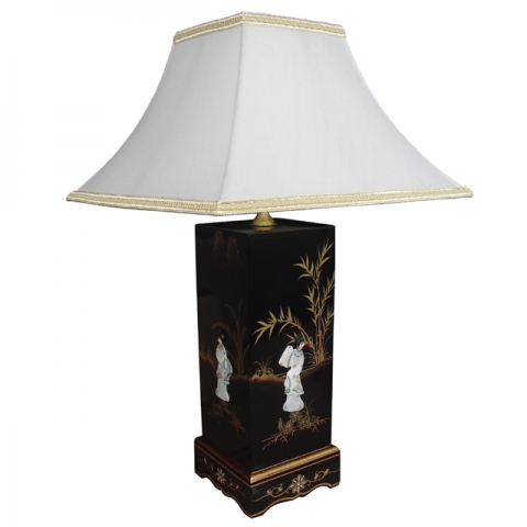 Chinese Table Lamp - Single