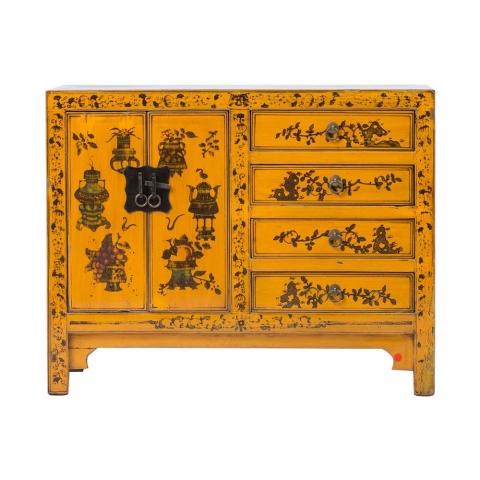 Chinese Yellow Cabinet