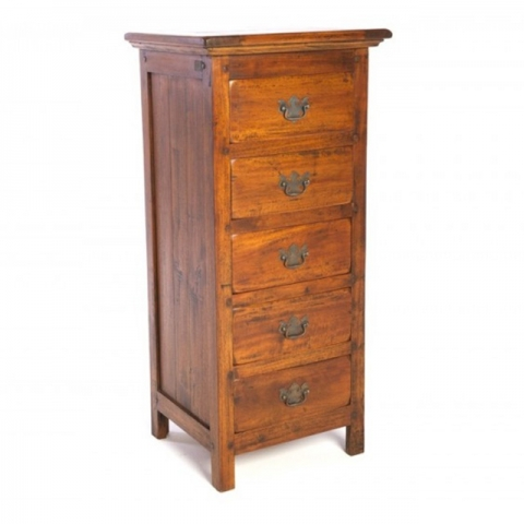 East Indies Tall Boy Chest