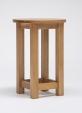 Lansdown Oak Round Lamp Table