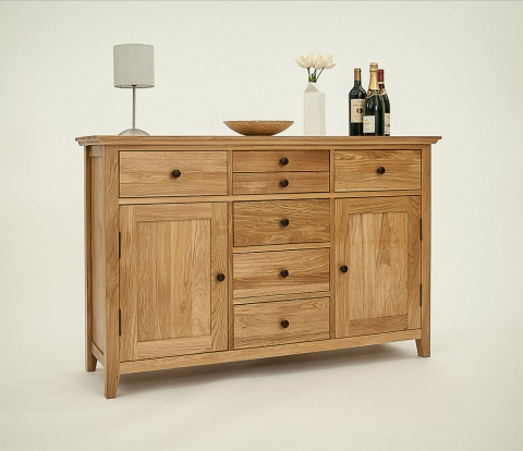 Hereford Rustic Oak Sideboard