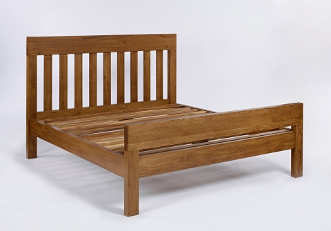 Santana Rustic Super Kingsize Bed