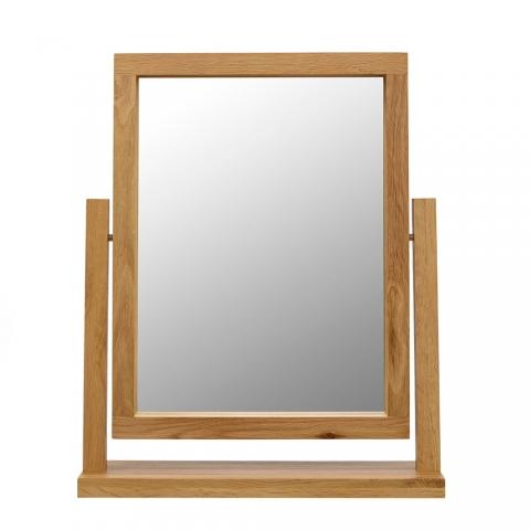 Santana Oak Dressing Table Mirror