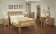 Santana Oak Double Bed