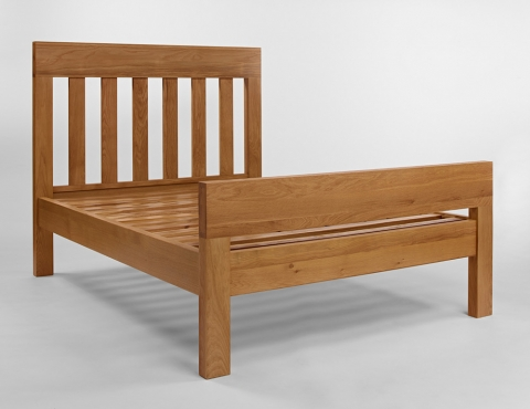 Santana Oak King Size Bed