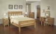 Santana Oak Super king Size Bed