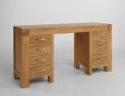 Santana Oak Desk