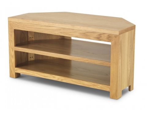 Cuba Cube Oak Corner TV Unit