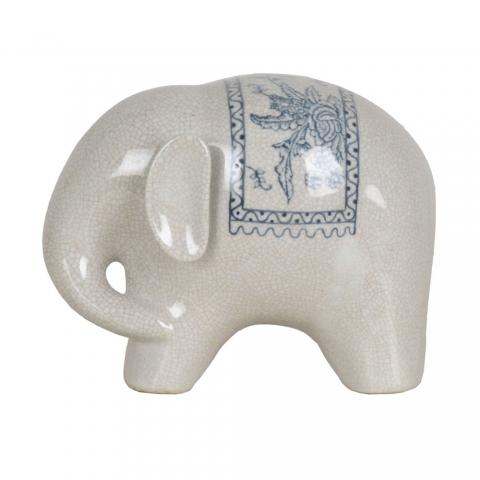 Chinese Large Porcelain Elephant