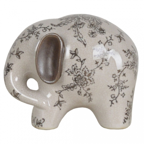 Chinese Floral Elephant