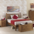 Hendon Pine Bedside Cabinet