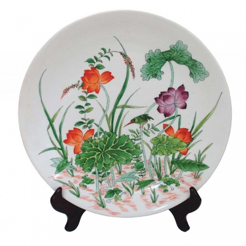 Chinese The Cui Niao Plate