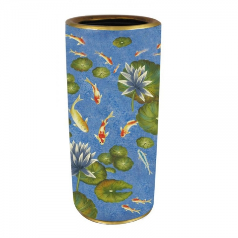 Chinese Umbrella Stand Porcelain