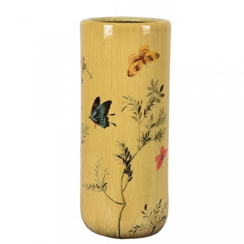 Chinese Umbrella Stand Yellow
