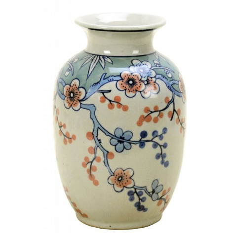 Chinese Weeping Plum Vase