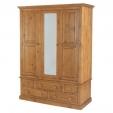 Hendon Pine Wardrobe Large