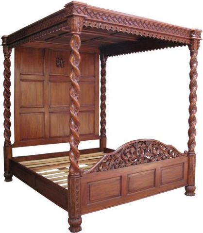 Janna Four Poster Bed