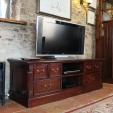 La Roque Mahogany TV Cabinet