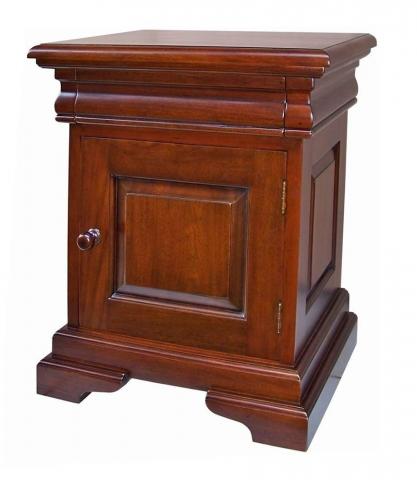 Mahogany Drawer Bedside
