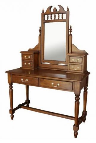 Mahogany Gothic Dressing Table