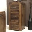 Shiro Walnut Filing Cabinet