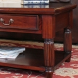 La Roque Mahogany Coffee Table