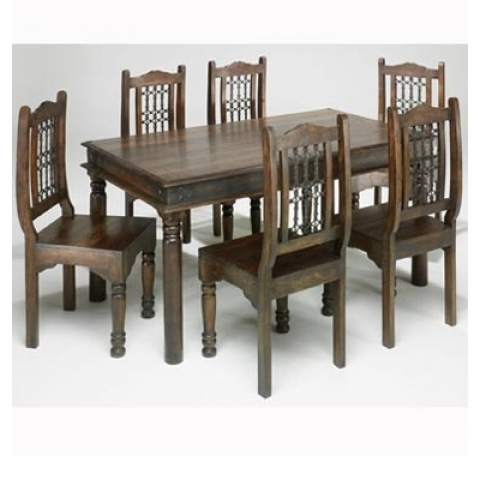 Jali Indian Dining Table