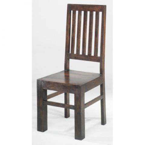 Chunky High Backed Chair