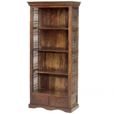 Jali Indian 4 Shelf Bookcase