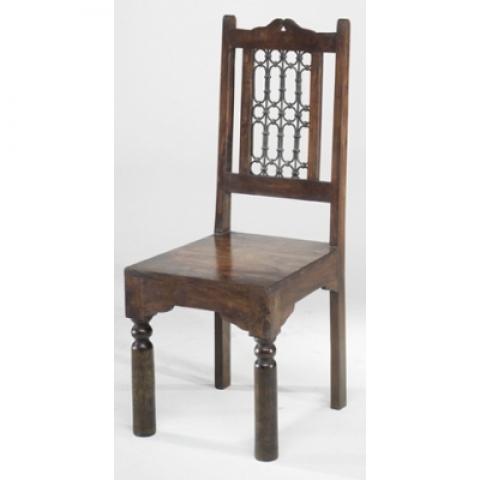 Jali Indian High Back Chair (Pair)