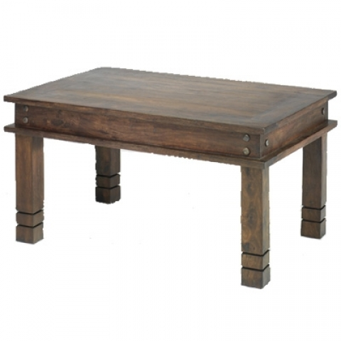 Jali Indian Chunky Coffee Table