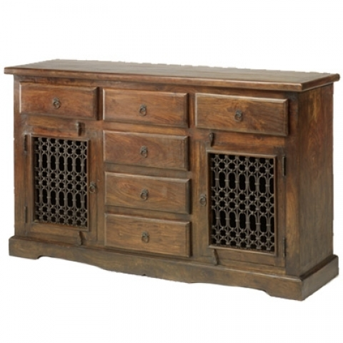 Jali Large Indian Sideboard