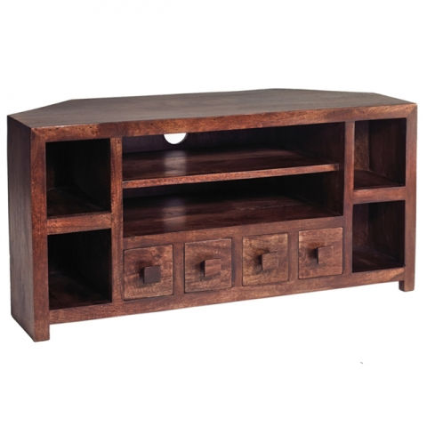 Dakota Mango Corner Media Unit