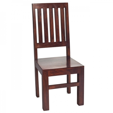 Dakota Mango Slat Back Chair