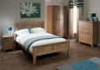 Sherwood Oak Double Bed