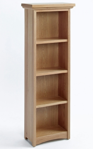 Sherwood Oak DVD/CD Cabinet