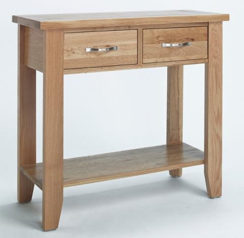Sherwood Oak Console Table