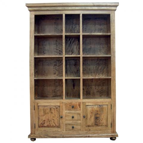 Provence Fruitwood Bookcase Large