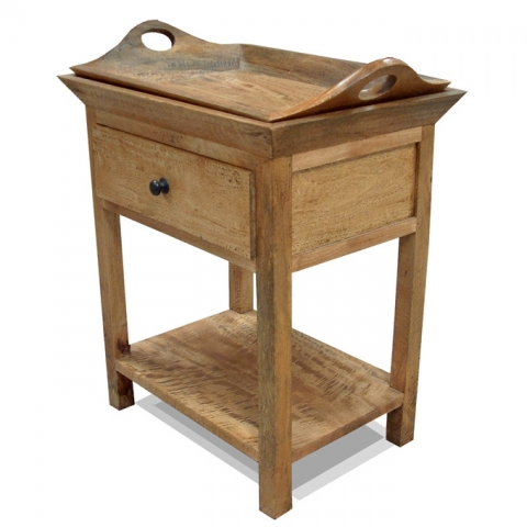 Provence Fruitwood Side Table