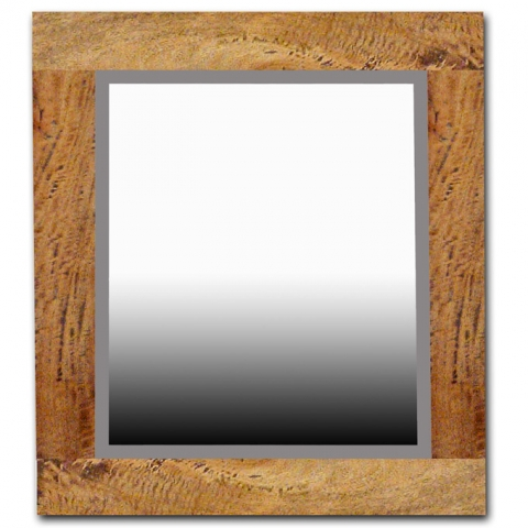 Provence Fruitwood Mirror Square