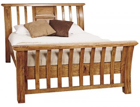 Provence Fruitwood Bed