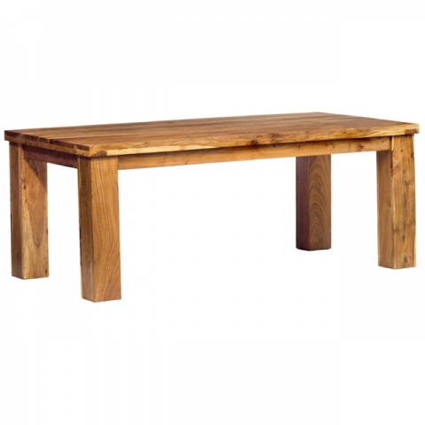 Metro Acacia Large Dining Table